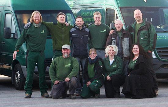 Das Team der Tennert & Grede Gartenbau GmbH